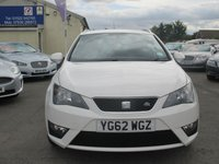 USED 2012 62 SEAT IBIZA 1.2 TSI FR 5d 104 BHP CRUISE CONTROL -  ONLY £30 ROAD TAX