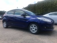 2014 FORD FIESTA 1.6 TDCI TITANIUM ECONETIC  5d IN DEEP IMPACT BLUE AND WITH FREE ROAD TAX £6250.00
