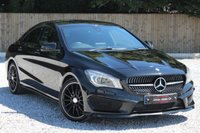 USED 2015 15 MERCEDES-BENZ CLA 1.6 CLA180 AMG SPORT 4d 122 BHP BIG BIG SPEC INCLUDING NIGHT PACK. PCP FINANCE AVAILABLE.