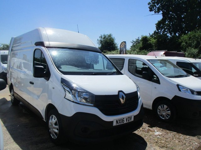2016 16 RENAULT TRAFIC 1.6 LH29 BUSINESS ENERGY DCI HI ROOF 120 BHP