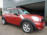 2013 MINI COUNTRYMAN 1.6 ONE D 5d 90 BHP £9495.00