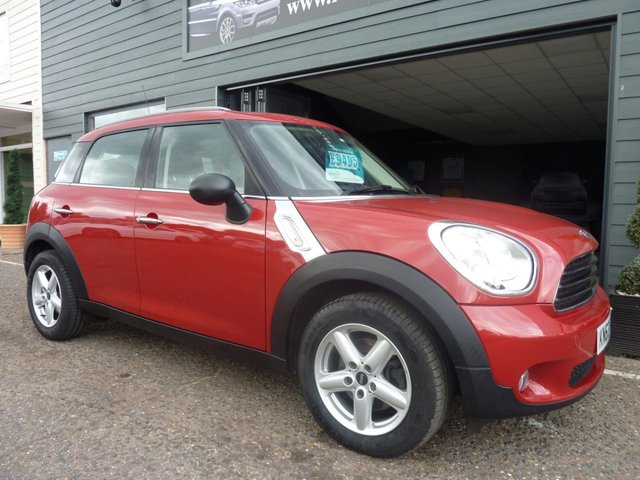 2013 63 MINI COUNTRYMAN 1.6 ONE D 5d 90 BHP