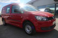 2012 VOLKSWAGEN CADDY MAXI 1.6 C20 TDI 5d 101 BHP £7995.00
