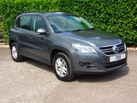 2010 VOLKSWAGEN TIGUAN 2.0 S TDI BLUEMOTION TECHNOLOGY 5d 140 BHP £6475.00
