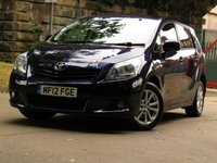 USED 2012 12 TOYOTA VERSO 2.0 TR D-4D 5d 125 BHP