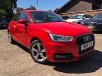 USED 2015 15 AUDI A1 1.6 SPORTBACK TDI SPORT 5dr AUTO 114 BHP Over £3k options, One owner, Full Audi service history.