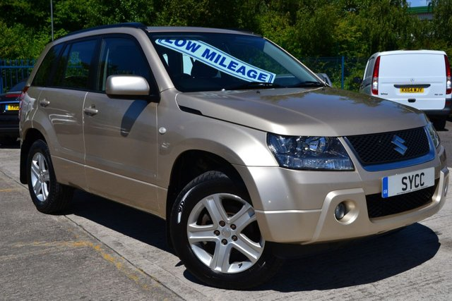 USED 2009 59 SUZUKI GRAND VITARA 2.0 16V 5d 139 BHP GENUINE 67,000 MILES ~ ONLY 2 FORMER KEEPERS FROM NEW