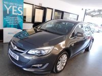 USED 2014 14 VAUXHALL ASTRA 1.6 ELITE 5d AUTO 115 BHP One lady owner, full Vauxhall service history, April 2019 advisory free Mot. Finished in Metallic Asteroid Grey with heated Black leather seats.