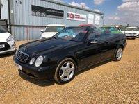 2002 MERCEDES-BENZ CLK 3.2 CLK320 AVANTGARDE 2d AUTO 218 BHP £2490.00