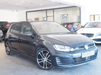 USED 2014 64 VOLKSWAGEN GOLF 2.0 GTD DSG 5d AUTO 182 BHP ++HEATED BLACK LEATHER+FSH++