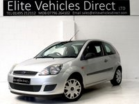 2006 FORD FIESTA 1.2 STYLE CLIMATE 16V 3d 78 BHP £1591.00