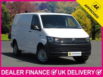 2017 VOLKSWAGEN TRANSPORTER 2.0 TDI BLUEMOTION T28 WITH AIR CON PANEL VAN £13650.00