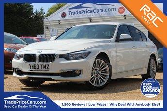 2013 BMW 3 SERIES 2.0 320D LUXURY 4d AUTO 184 BHP £13500.00