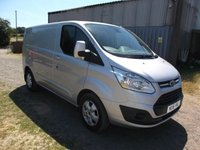 2016 FORD TRANSIT CUSTOM 270 LIMITED LR P/V