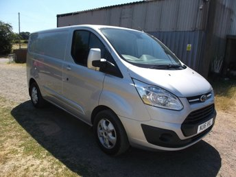 View our FORD TRANSIT CUSTOM 270 LIMITED LR P/V