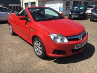 USED 2008 08 VAUXHALL TIGRA 1.4 16V TWINPORT 2d 90 BHP EXCEPTIONALLY LOW MILEAGE
