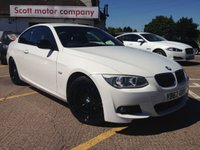 2012 BMW 3 SERIES 2.0 318I Sport Plus Edition 2d - Navigation & full leather £10799.00