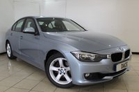 USED 2013 13 BMW 3 SERIES 2.0 320I SE 4DR 181 BHP BMW SERVICE HISTORY + BLUETOOTH + PARKING SENSOR + CRUISE CONTROL + MULTI FUNCTION WHEEL + CLIMATE CONTROL + 17 INCH ALLOY WHEELS