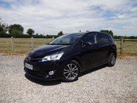 2014 TOYOTA VERSO 1.6 D-4D ICON 5d 110 BHP £10490.00
