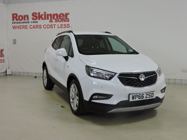 View our 2016 66 VAUXHALL MOKKA X 1.4 ACTIVE S/S 5d 138 BHP