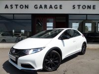 2015 HONDA CIVIC 1.6 I-DTEC BLACK EDITION 5d 118 BHP ** DAB * BLUETOOTH ** FSH ** £11990.00
