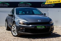 USED 2012 62 VOLKSWAGEN SCIROCCO 2.0 GT TDI BLUEMOTION TECHNOLOGY 2d 140 BHP £0 DEPOSIT FINANCE AVAILABLE, ADJUSTABLE SPORTS SUSPENSION, BLUEMOTION TECHNOLOGY, CLIMATE CONTROL, CRUISE CONTROL, FULL LEATHER UPHOLSTERY, HEATED SEATS, SATELLITE NAVIGATION, STEERING WHEEL CONTROLS