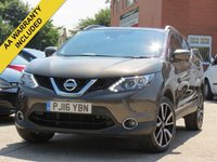 USED 2016 16 NISSAN QASHQAI 1.5 DCI TEKNA 5d 108 BHP PANORAMIC ROOF, 360 DEGREE PARKING CAMERA + LEATHER