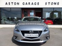 USED 2015 65 MAZDA 3 2.0 SPORT NAV 4d 118 BHP ** SAT NAV * BOSE * HEAD UP DISPLAY ** ** SAT NAV * BOSE * CRUISE * FMSH **