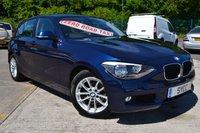 USED 2013 63 BMW 1 SERIES 1.6 116D EFFICIENTDYNAMICS 5d 114 BHP FREE ROAD TAX ~ 1 FORMER KEEPER ~ DEEP SEA BLUE ~ 2 KEYS