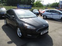 USED 2015 15 FORD FOCUS 1.6 ZETEC TDCI 5d 114 BHP ABSOLUTELY STUNNING LOW MILEAGE EXAMPLE !!