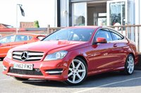 USED 2012 62 MERCEDES-BENZ C CLASS 2.1 C220 CDI BLUEEFFICIENCY AMG SPORT 2d 170 BHP FULL MERCEDES SERVICE HISTORY