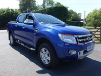 2016 FORD RANGER FORD RANGER 2.2 LIMITED 4X4 DOUBLE CAB PICK UP 2.2 TDCI 150 BHP £15995.00