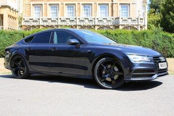 2013 AUDI A7 3.0 TDI QUATTRO S LINE BLACK EDITION 5d AUTO 309 BHP £19490.00