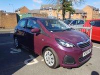 2016 PEUGEOT 108 1.0 ACTIVE 5d AUTO 68 BHP £6995.00