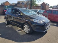 USED 2014 14 FORD FIESTA 1.2 STYLE 3d 59 BHP CHEAP TO RUN, LOW CO2 EMISSIONS, £30 ROAD TAX, AND GOOD FUEL ECONOMY! SPECIFICATION INCLUDES AIR CONDITIONING, ELECTRIC WINDOWS, AUXILLIARY/USB AND MEDIA.