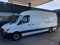 USED 2016 16 MERCEDES-BENZ SPRINTER 2.1 313 CDI LWB 1d 129 BHP Lovely Condition with Full Service History