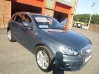 2012 AUDI Q5 2.0 TDI QUATTRO S LINE 5d AUTO 170 BHP £16950.00