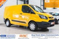 2014 FORD TRANSIT CUSTOM 2.2 330 LR P/V 124 BHP *EX AA VAN AIR CON + HEATED SEATS* £8495.00