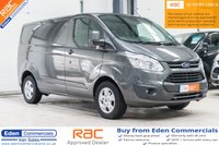 2015 FORD TRANSIT CUSTOM 2.2 270 LIMITED LR P/V 124 BHP *FINISHED IN STUNNING MAGNETIC GREY* £12995.00