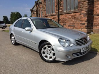 2005 MERCEDES-BENZ C CLASS 1.8 C180 KOMPRESSOR ELEGANCE SE 4d AUTO 141 BHP [FULL LEATHER] £2995.00