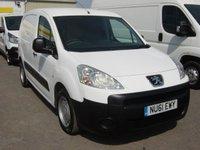 2011 PEUGEOT PARTNER 1.6 HDI S L1 850 1d 89 BHP **NO VAT** £3495.00