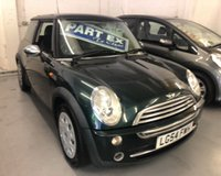 2004 MINI HATCH ONE 1.6 ONE 3d 89 BHP £1250.00