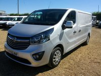USED 2015 65 VAUXHALL VIVARO 1.6 2900 L2H1 CDTI P/V SPORTIVE 1d 114 BHP 2015 ONE OWNER FROM NEW CHOICE OF 7 IN STOCK.
