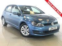 USED 2014 14 VOLKSWAGEN GOLF 1.6 SE TDI BLUEMOTION TECHNOLOGY DSG 5d AUTO 103 BHP 1 Owner/Bluetooth/DAB Radio/AC