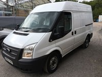 USED 2013 63 FORD TRANSIT 2.2 260 1d 100 BHP SWB HI ROOF