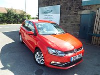 USED 2015 15 VOLKSWAGEN POLO 1.0 SE 5d 60 BHP FULL VW Service History ONE Owner Only £20 Road Tax