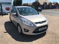 USED 2011 11 FORD C-MAX 1.6 ZETEC TDCI 5d 114 BHP 8 MAIN DEALER SERVICE STAMPS-£30 TAX-1 FORMER KEEPER-BLUETOOTH
