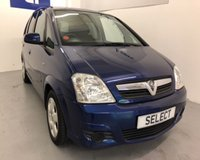 2008 VAUXHALL MERIVA BREEZE 16V £2999.00