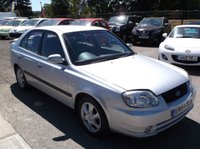 USED 2004 54 HYUNDAI ACCENT 1.6 CDX 5d AUTO 104 BHP P/X TO CLEAR, GREAT VALUE, DRIVES SUPERBLY !!!!!