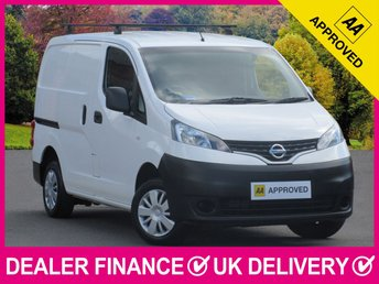 2014 NISSAN NV200 1.5 DCI ACENTA 110 PANEL VAN REVERSE CAMERA £7350.00